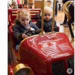 1 Prince Albert's royal twins— 2 year old Prince Jacques and Princess Gabrielle — just got the hang of their ABCs and they've already moved on to world leaders