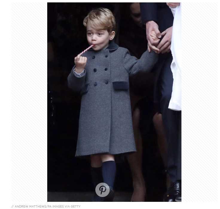 Prince George vs Grandpa Prince Charles