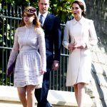 4 Catherine Duchess of Cambridge and Prince William attending Easter Church Service Photo C SWNS