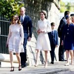 5 Catherine Duchess of Cambridge and Prince William attending Easter Church Service Photo C SWNS