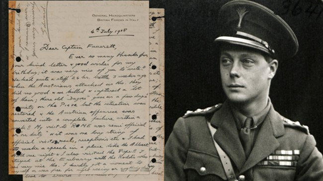 A-letter-from-King-Edward-VIII-is-also-up-for-auction