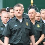 About 100 personnel from London Ambulance Service attended the event Photo C PA