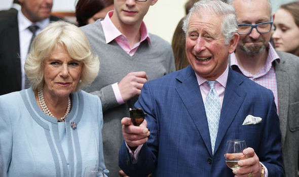 Camilla showed off her fine wine knowledge as Charles struggled to keep up with industry jargon Photo C GETTY IMAGES