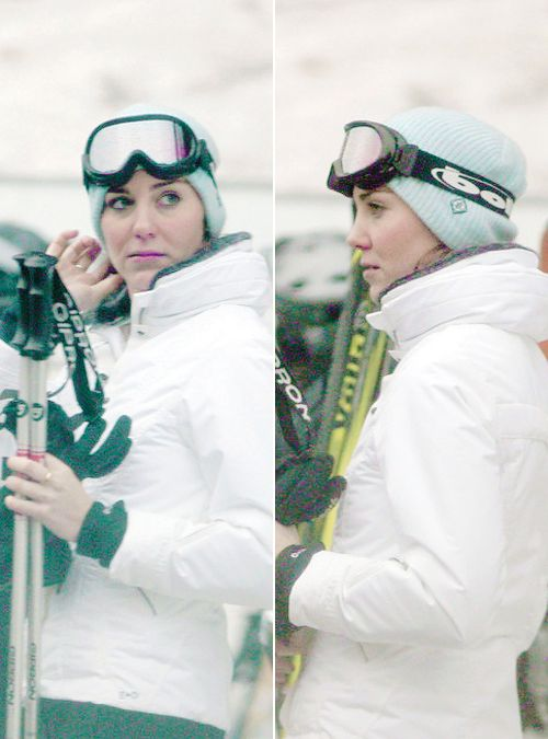 Catherine Duchess of Cambridge Skiing Photo (C) GETTY IMAGES