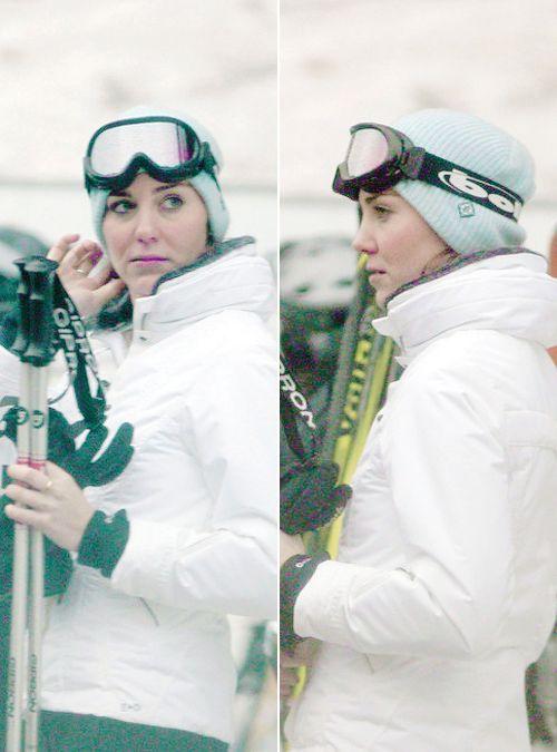 Catherine Duchess of Cambridge skiing Photo C GETTY IMAGES