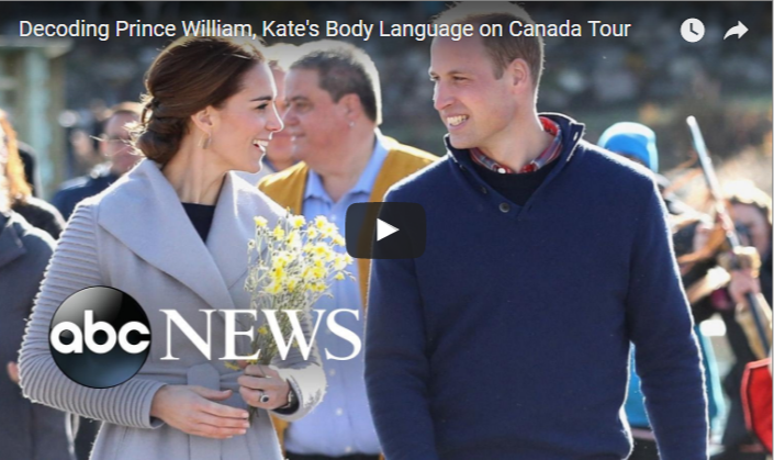 Decoding Prince William Kates Body Language on Canada Tour