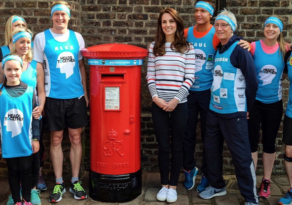 Duchess of Cambridge Meets With Heads Together Runners Photo C Kensington Palace Twitter