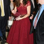 Duchess of Cambridge attends a musical in the West End