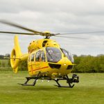 East Anglia Air Ambulance launching a new helicopter in Cambridge. Photo David Johnson