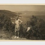 Edward VIII on his scandal sparking vacation in 1936. Photo C KERRY TAYLOR AUCTIONS
