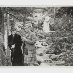 From left Katherine Rogers Wallis Simpson and Edward VIII at Balmoral in 1936. Photo C KERRY TAYLOR AUCTIONS