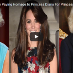 Kate Middleton Paying Homage to Princess Diana For Princess Charlotte's Christening