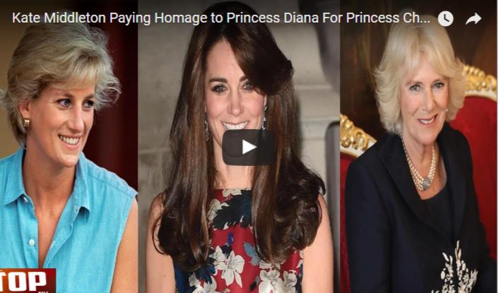 Kate Middleton Paying Homage to Princess Diana For Princess Charlotte's Christening