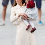 Kate Middleton and Prince Charlotte Photo C GETTY