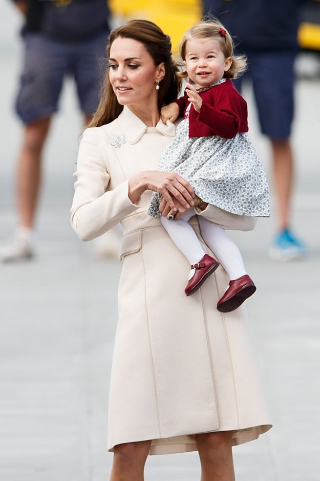 Kate Middleton and Prince Charlotte Photo (C) GETTY