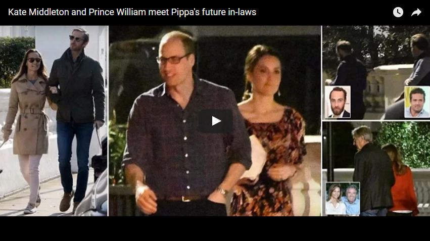Kate Middleton and Prince William meet Pippas future in laws