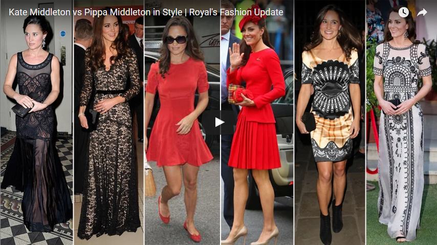 Kate Middleton vs Pippa Middleton in Style
