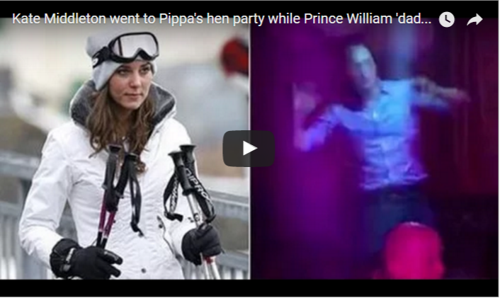 Kate Middleton went to Pippas hen party while Prince William dad danced