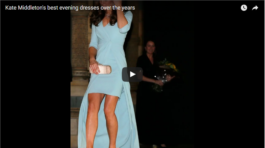 Kate Middletons best evening dresses over the years