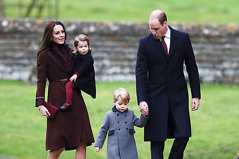 Kate Prince William Prince George and Princess Charlotte will all play starring roles Photo C GETTY IMAGES