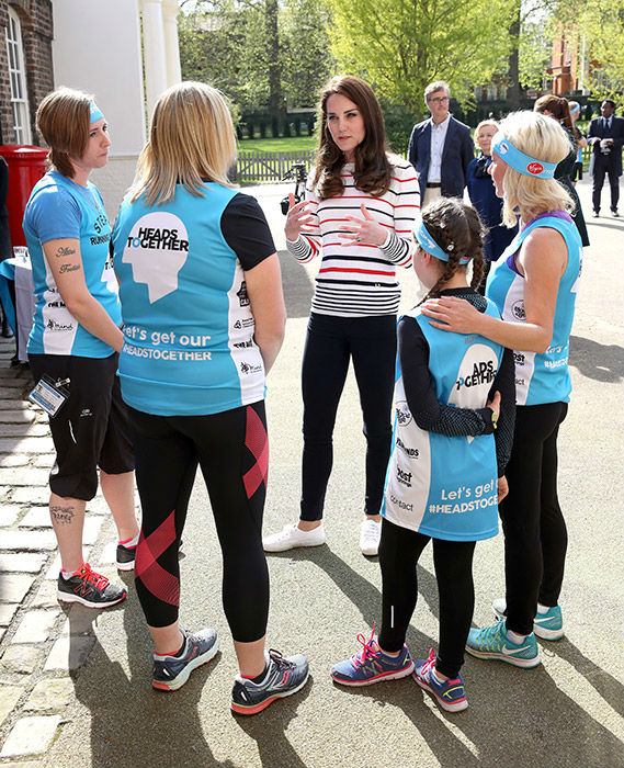 Kate hosted London Marathon runners at Kensignton Palace on Wednesday afternoon Photo C KENSINGTON PALACE TWITTER