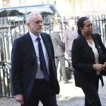 Labour Leader Jeremy Corbyn was among the dignitaries in attendance Photo C PA