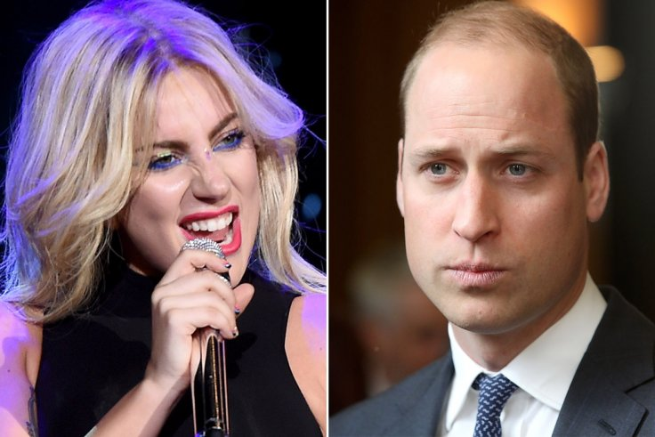 Lady Gaga and Prince William Photo C AFP Getty Images