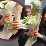 Meghan Markle Wearing Golden Ring with H while Dating Prince Harry in Canada Photo C GETTY IMAGES