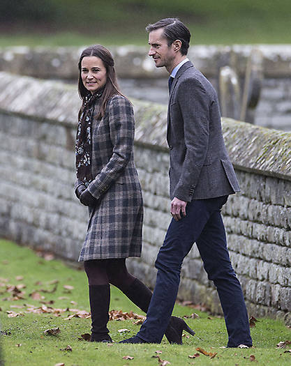 Pippa and James got engaged last summer Photo C GETTY IMAGES