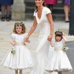 Pippa as Kates maid of honour in 2011 Photo C GETTY IJMAGES
