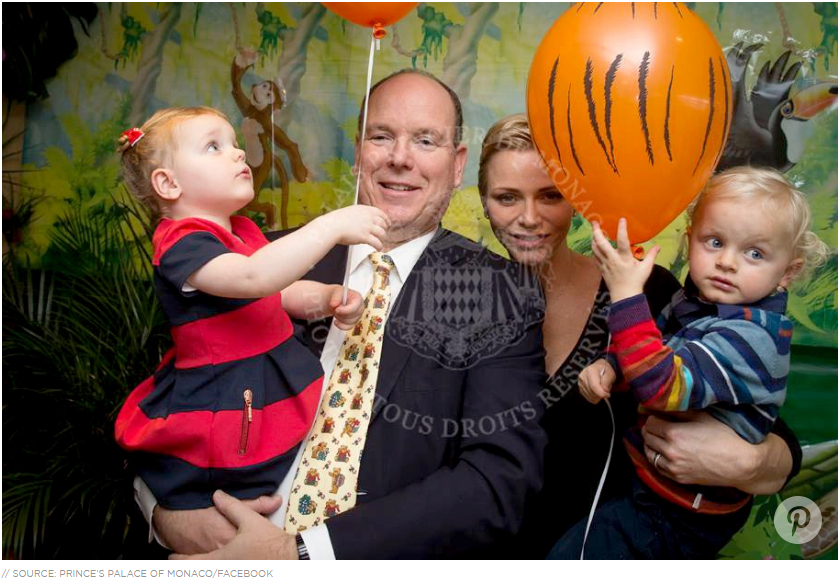 Prince Albert's royal twins— 2-year-old Prince Jacques and Princess Gabrielle — just got the hang of their ABCs and they've already moved on to world leaders