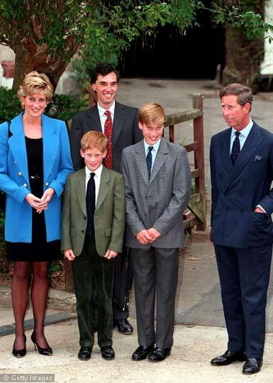 Prince Charles, Prince William, and Prince Harry Photo (C) GETTY IMAGES