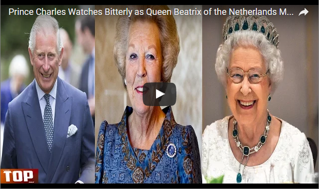 Prince Charles Watches Bitterly as Queen Beatrix of the Netherlands Makes Son King – Queen Elizabeth