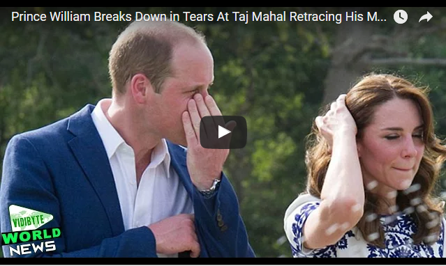 Prince William and Catherine Duchess of Cambridge couldnt hide deep love for Princess Diana
