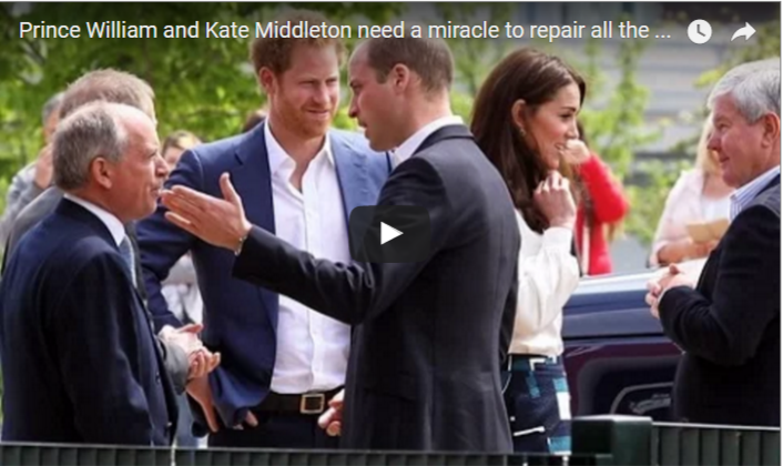 Prince William and Kate Middleton need a miracle to repair all the damage
