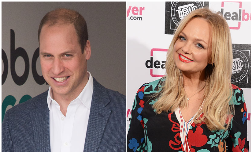 Prince William asks Emma Bunton about the Spice Girls reunion Photo (C) GETTY IMAGESPrince William asks Emma Bunton about the Spice Girls reunion Photo (C) GETTY IMAGES