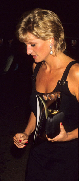 """London                 September 7, 1995   Princess Diana  at  Screening of film """"Apollo 13"""" at UIP House in Hammersmith."""