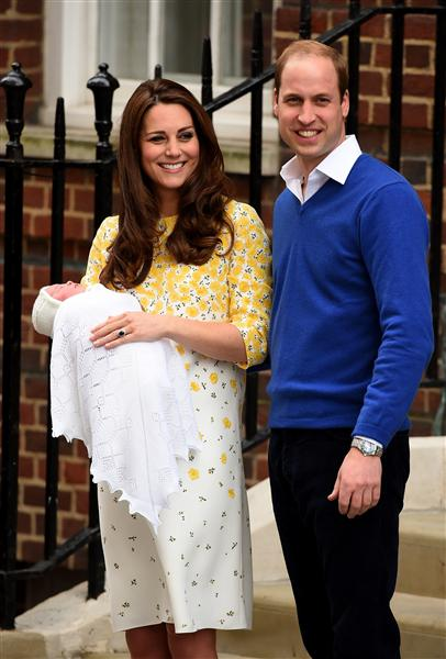 Princess Diana Prince William Prince Harry Princess Charlotte and Cattherine Duchess of Cambridge Photo C GETTY IMAGES 0156