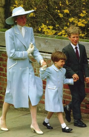 Princess Diana Prince William Prince Harry Princess Charlotte and Cattherine Duchess of Cambridge Photo C GETTY IMAGES 0186