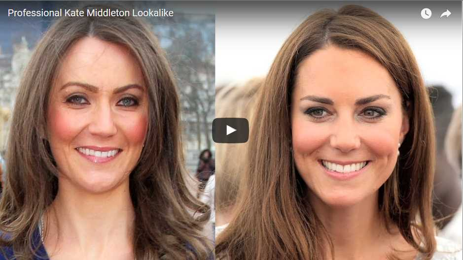 Professional Kate Middleton Lookalike