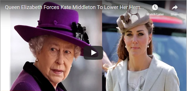 Queen Elizabeth Forces Kate Middleton To Lower Her Hemline