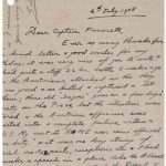 RR Auction also has a letter from King Edward VIII sent during World War I