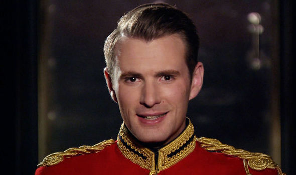 Richard will take his tricks in parts of the army that have never been seen before in the media Photo C ITV