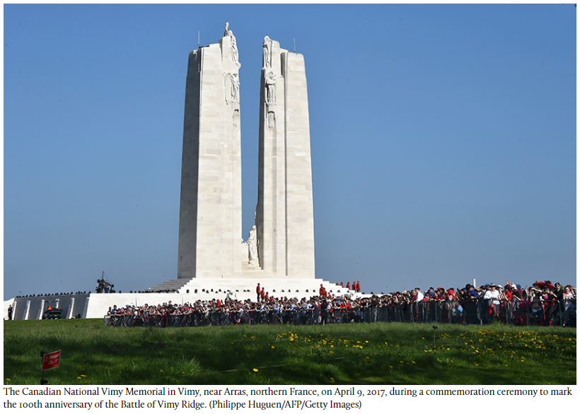 What Vimy means today, a century after the iconic battle