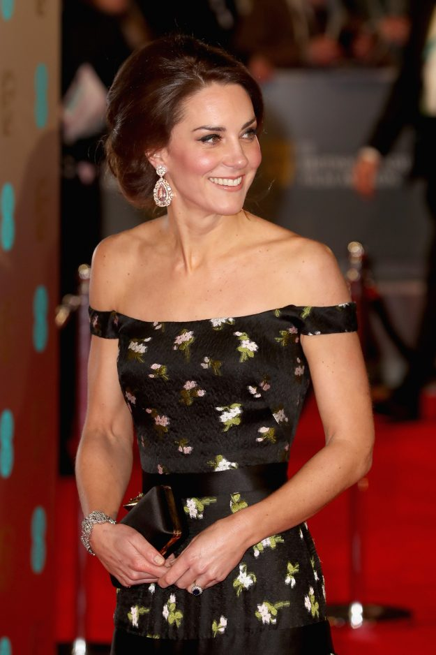 The Duchess Of Cambridge always carries her bag in both hands Photo C GETTY
