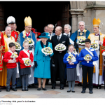 The Queen Maundy Thursday this year in Leicester