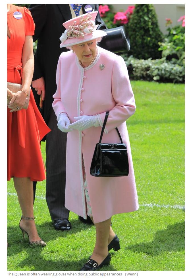 The Queen is often wearing gloves when doing public appearances [Wenn]