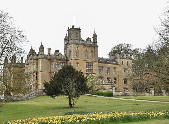 The church sits in the shadow of Englefield House Photo (C) GETTY IMAGES