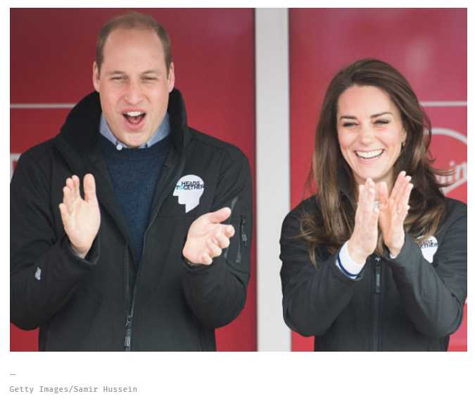 These photos of a London marathon runner squirting water on an amused Prince William's face is our new favorite thing