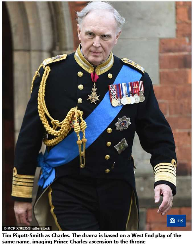 Tim Pigott-Smith as Charles Drama is based on a West End Play of the Same name